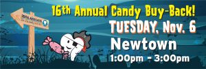 16th Annual Candy Buy-Back! @ Dental Associates of Newtown
