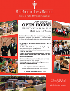 St. Rose of Lima School Open House @ St. Rose of Lima School