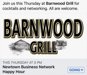 Newtown Business Network at Barnwood Grill @ Barnwood Grill