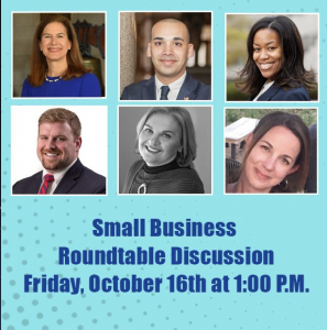 Small Business Roundtable Discussion @ Via Zoom