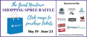 The Great Newtown Shopping Spree Raffle @ Eventgroove Fundraising Platform